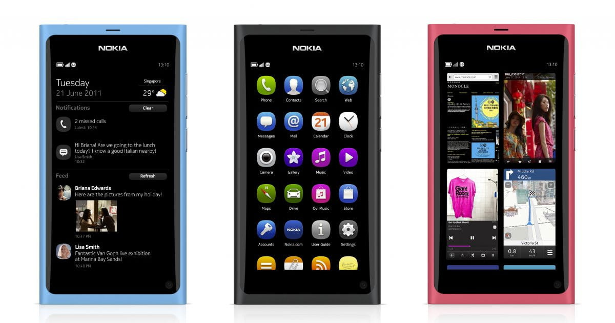 Nokia debuts N9, the first — and last — MeeGo phone