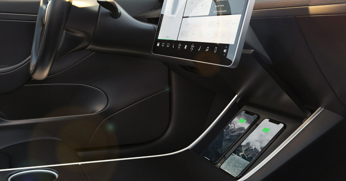 Nomad Wireless Charger For Tesla Model 3 Charges Twice As