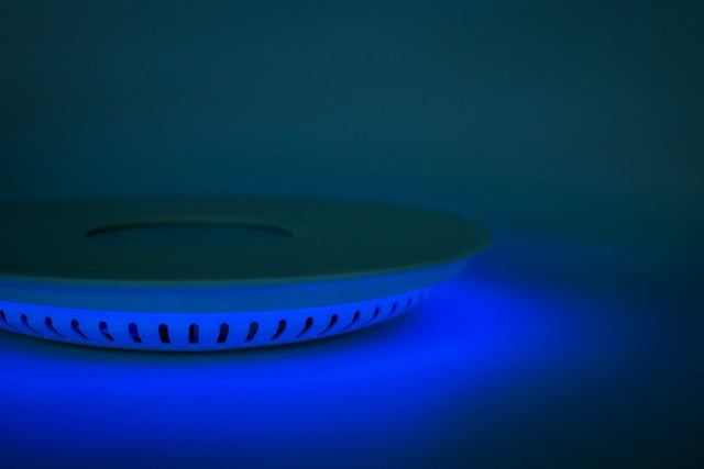 oasys smart water meter glows when you waste h2o oaysys sideviewbluehorizontal