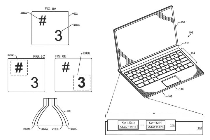 dell oled keyboard backlighting patent oledbacklighting02