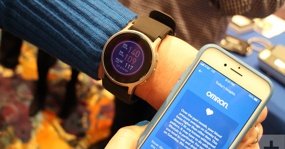 Omron Heartguide Offers Blood Pressure Monitoring On Your Wrist Digital Trends