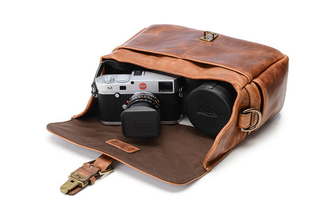 best camera bags ona leather bowery side