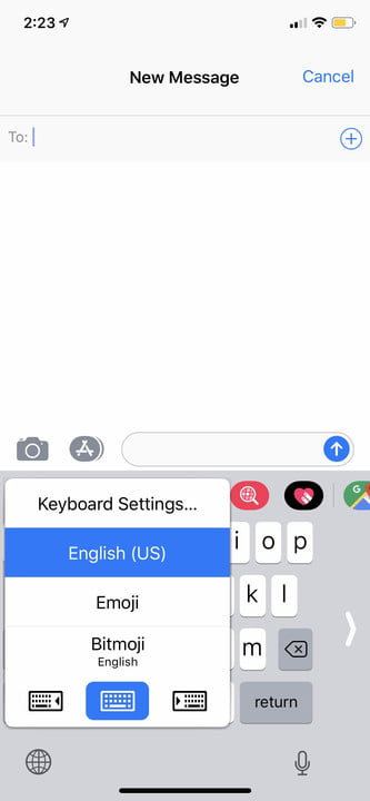 iphone xs tips and tricks one handed keyboard 2