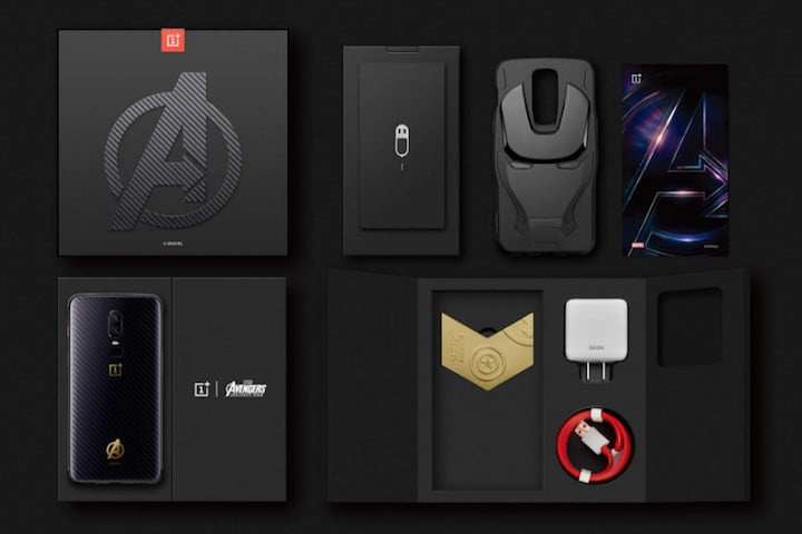 oneplus 6 news avengers box