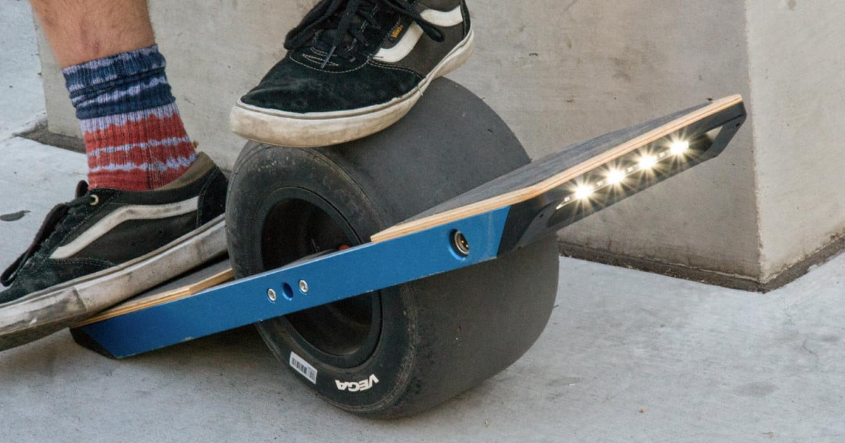 onewheel looks like a balance board rides like a. Black Bedroom Furniture Sets. Home Design Ideas