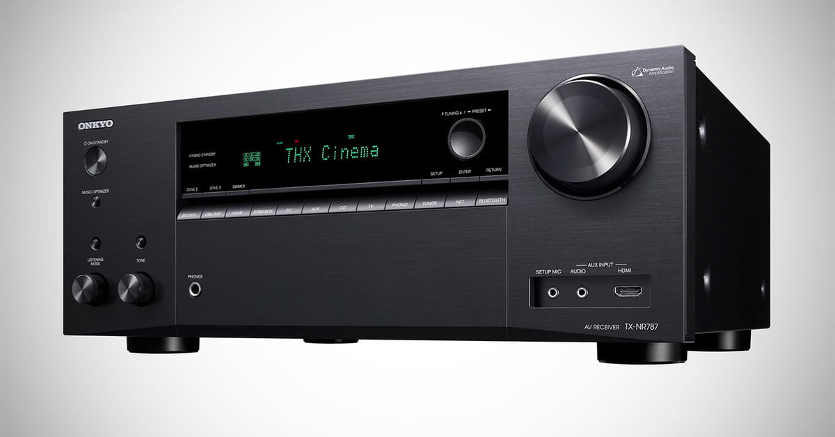 The Onkyo TX-NR787 Receiver Has a Secret Weapon and it isn't THX