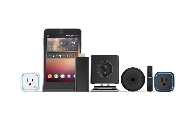 oomi is a tap and touch smart home hub connected system cubefamily