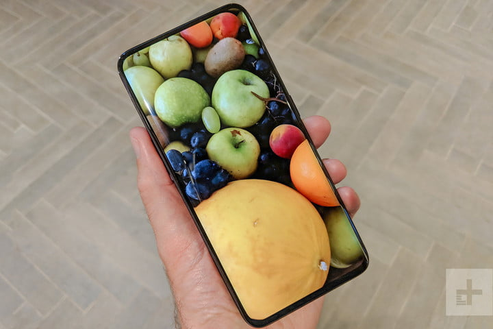 oppo find x hands on fruit