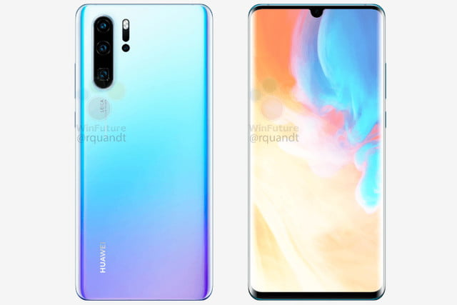 huawei p30 pro news in ice white
