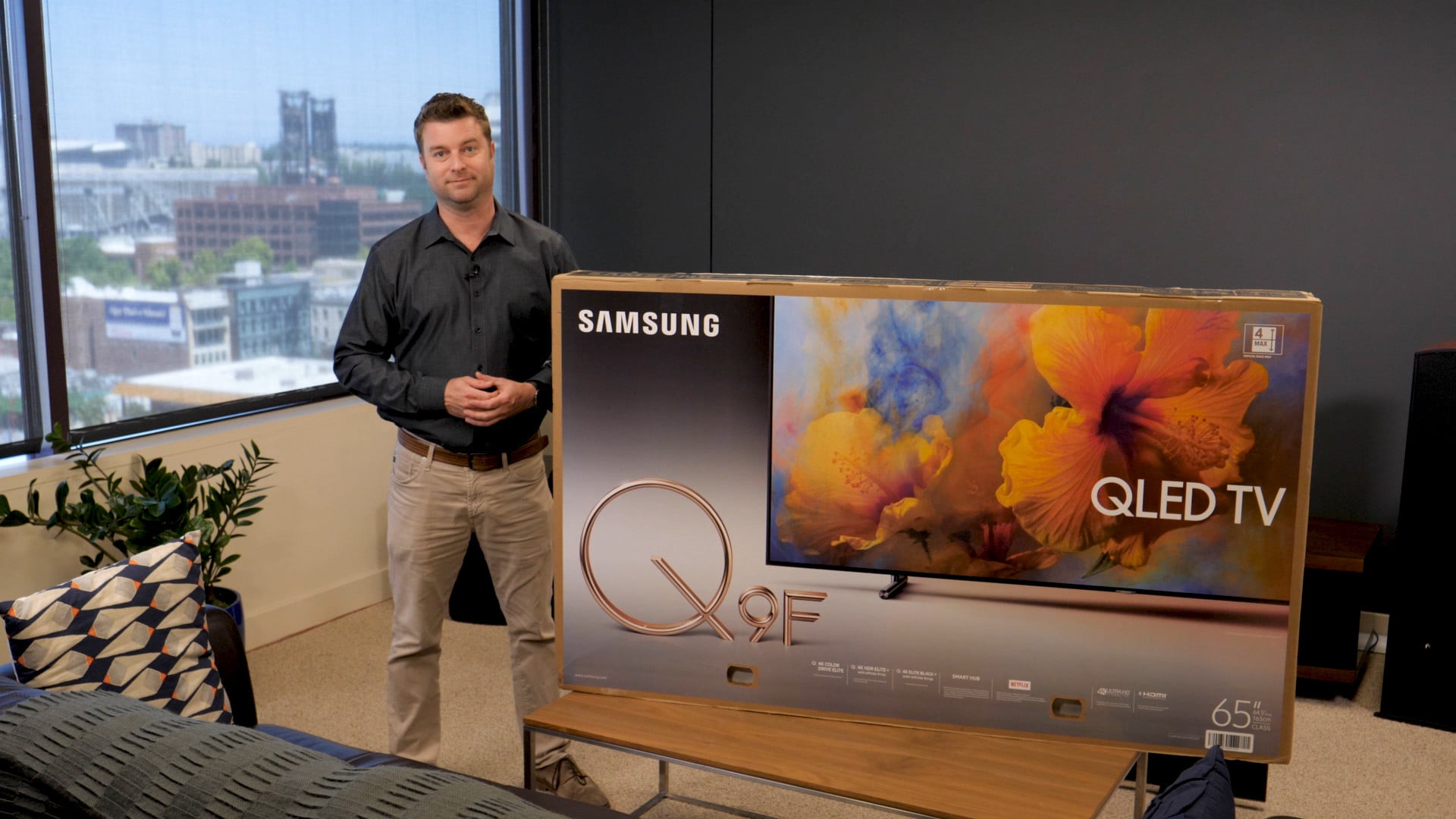 Here S A Samsung Q9 Setup And Unboxing Guide Digital Trends