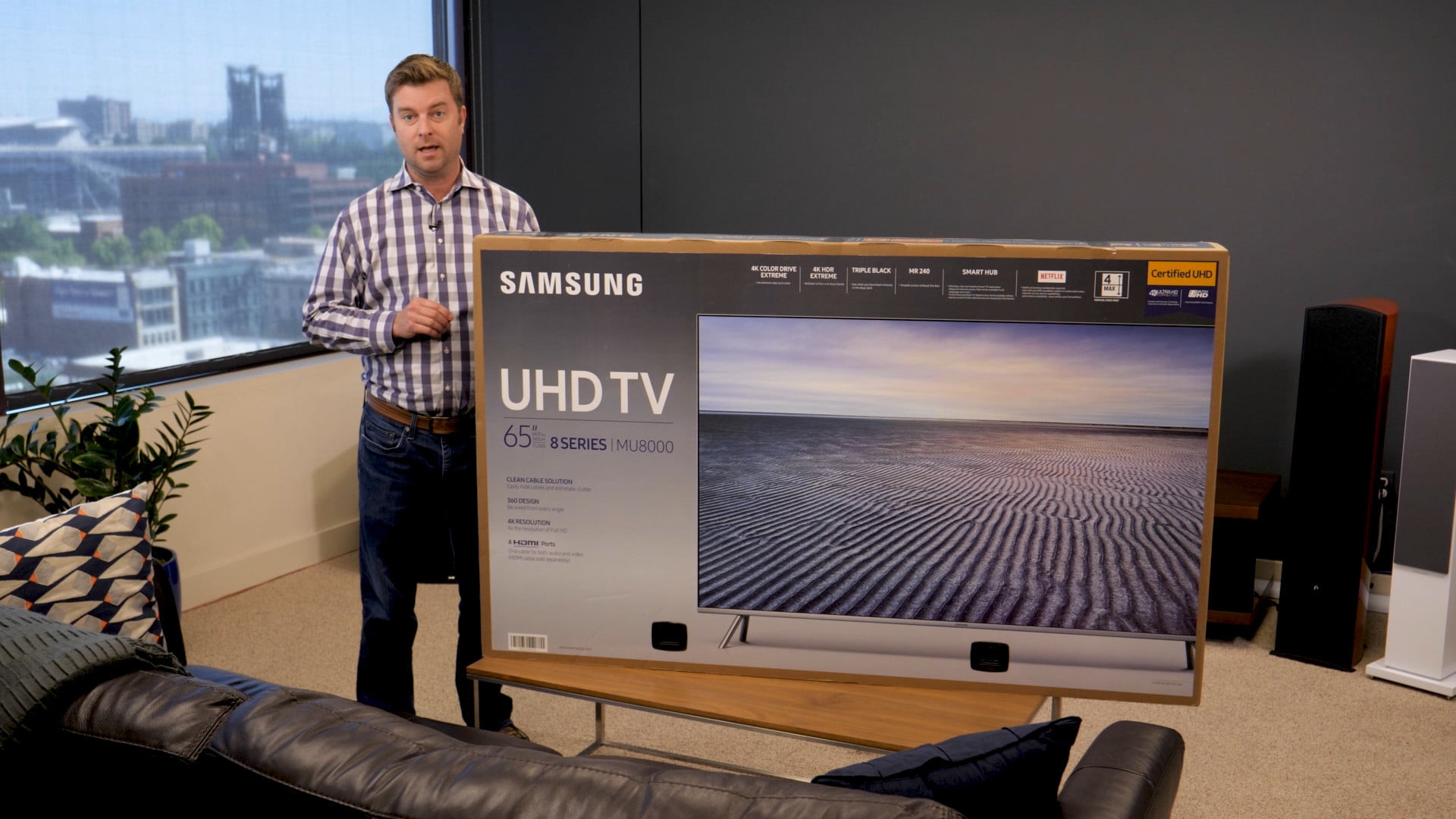 Samsung Mu8000 Unboxing And Setup Guide Get The Most Out Of Uhd