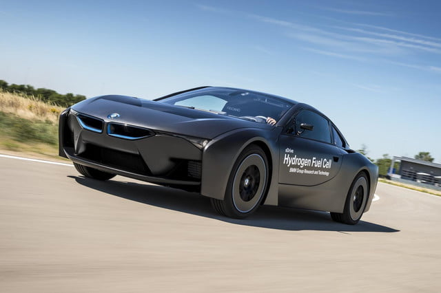BMW i8 hydrogen fuel-cell prototype