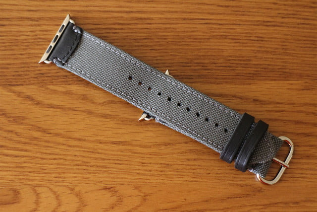 best Apple Watch bands Pad & Quill Field Strap bottom