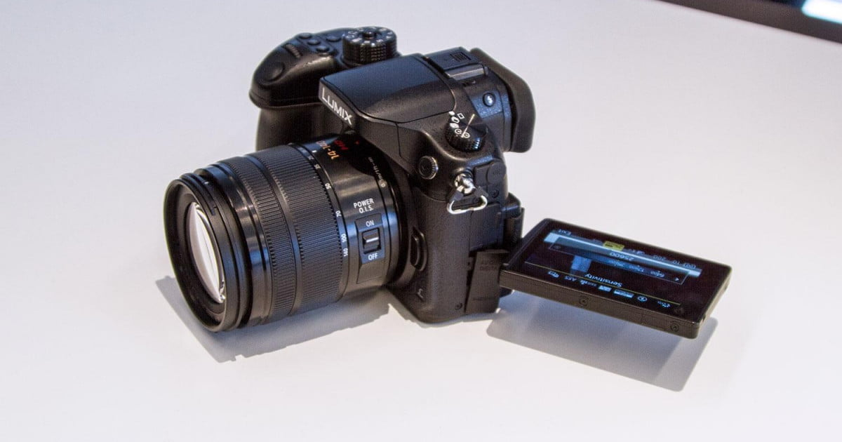 Panasonic's new Lumix GH4 gives pros 4K video capture