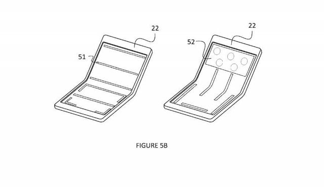 microsoft laptop with foldable screen patent 2