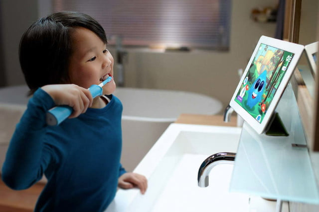 philips sonicare bluetooth toothbrush has a coaching app for kids connected usp4 03
