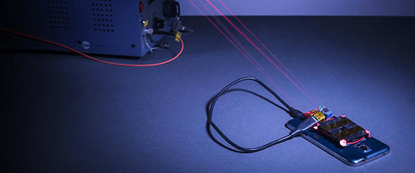 Now lasers can charge  a phone from across the room. Just don't step in the way