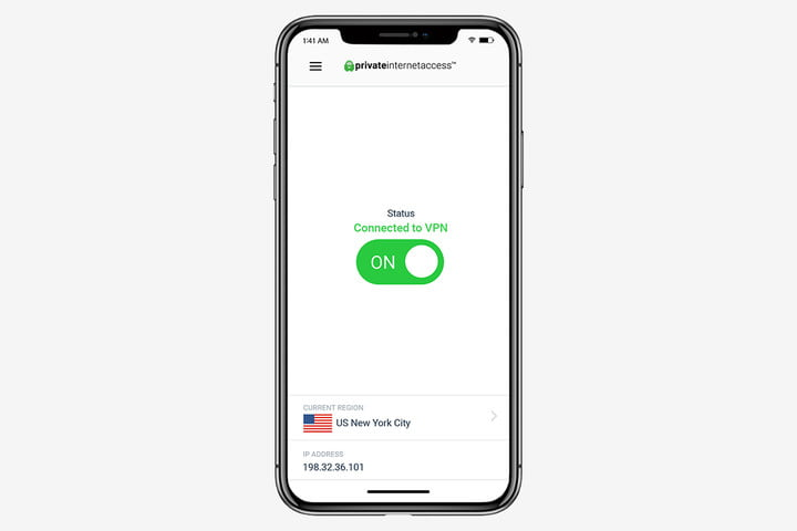 Private Internet Access VPN for iOS