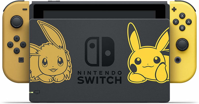 nintendo switch deals pikachueeveeswitch