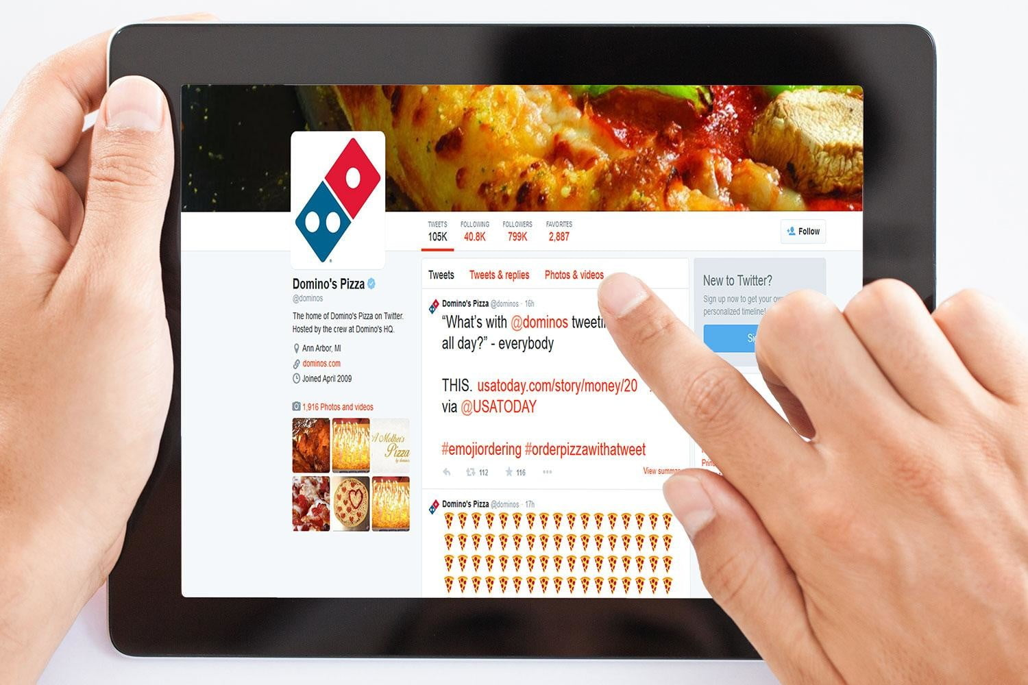 Order Pizza From Domino\'s With A Tweet   Digital Trends