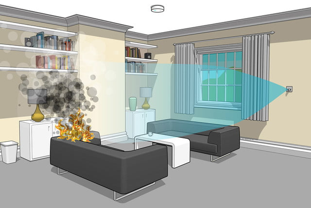 the automist uses less water than sprinklers to put out fires plumis 6