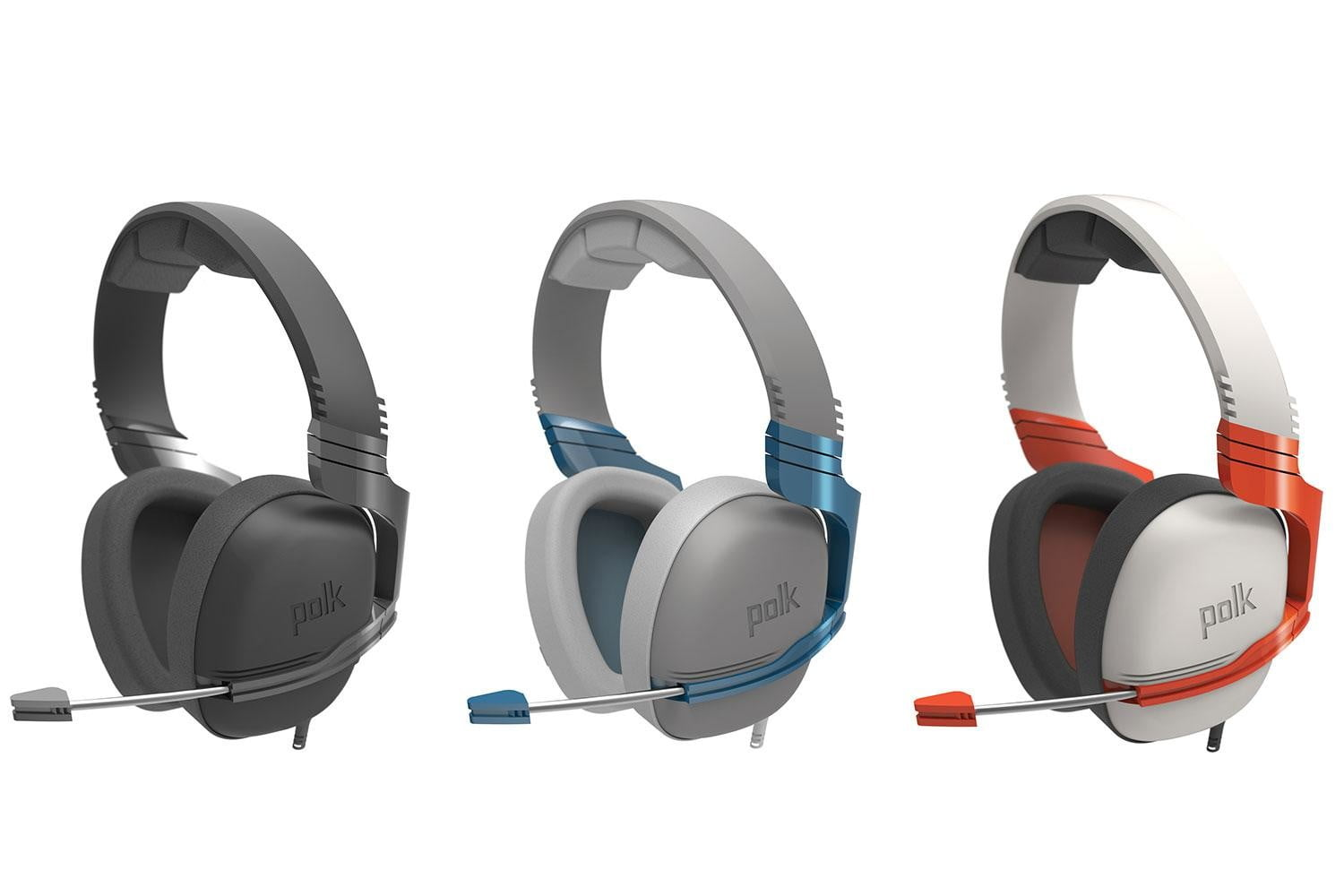 Polk returns to E3 with its Striker audiophile gaming headset | Digital  Trends