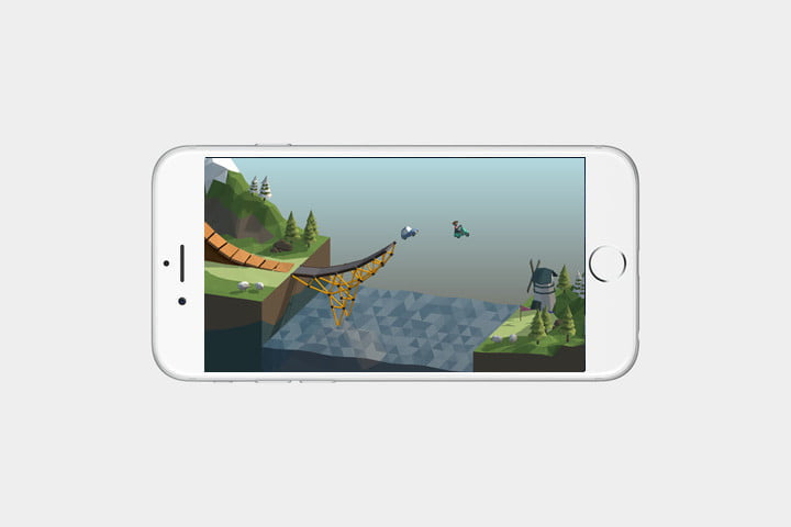 best iPhone games: poly bridge