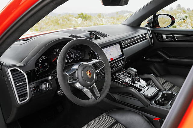 the 2020 porsche cayenne coupe is all about style 11