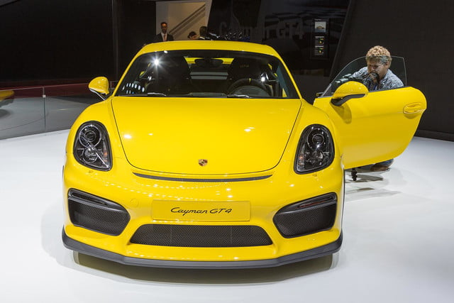 porsche cayman gt4 official pictures and specs 3