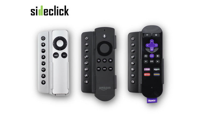 Got a Roku or Apple TV? Sideclick could make your TV remote a thing of the past