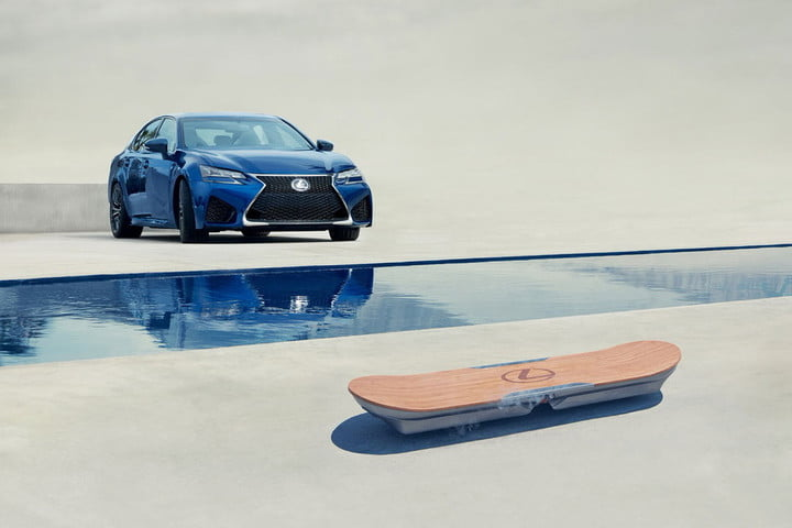 Lexus has created a real, rideable hoverboard