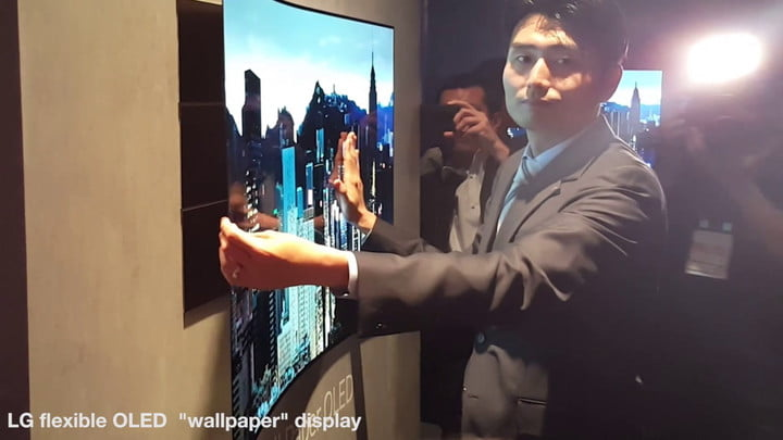 LG's flexible and transparent OLED display concepts