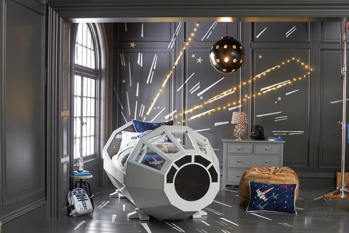 The Millennium Falcon Bed | Pottery Barn Kids