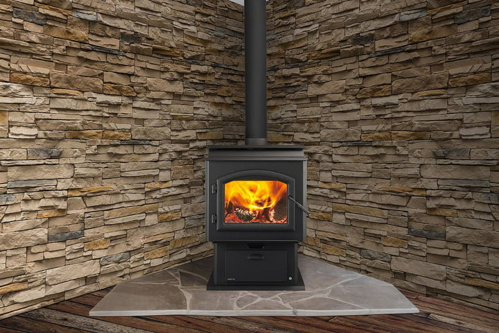 Quadra-Fire Introduces a Thermostat-Controlled Wood Stove