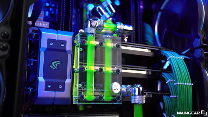 Maingear Rush Gaming Systems are Stunningly Pretty