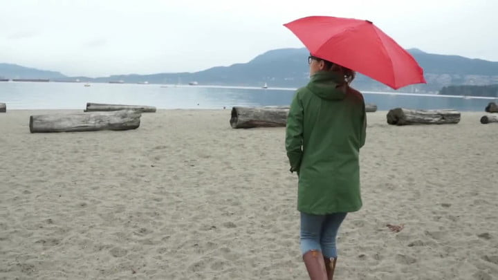 Kickstarter's Cypress Umbrella Won't Flip Inside Out