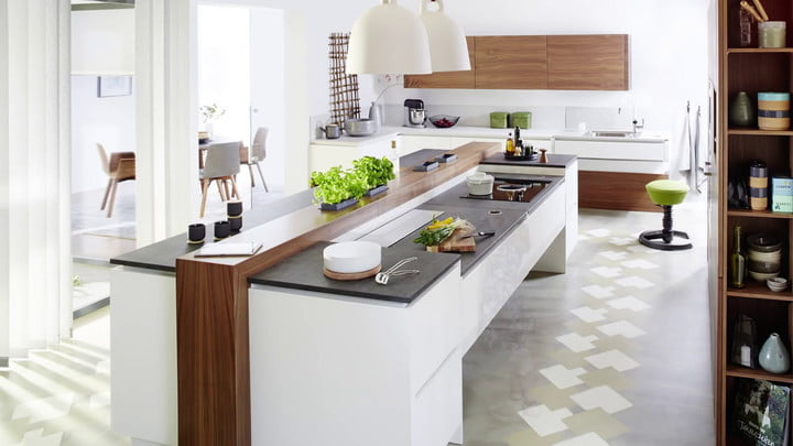 Tielsa Makes Height-Adjustable Counters for Kitchens
