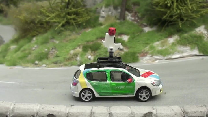 Google's Street View Cams Tour Stunning Model World