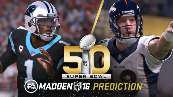 Madden Predicts Panthers Will Win Super Bowl 50