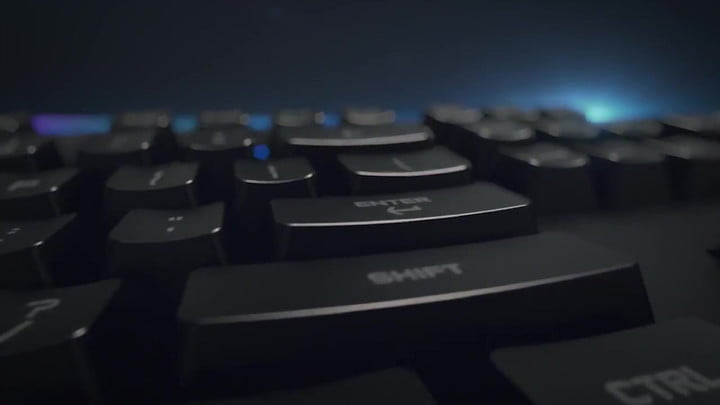 Logitech's New G810 Packs Romer-G Switches, Subtle Styling
