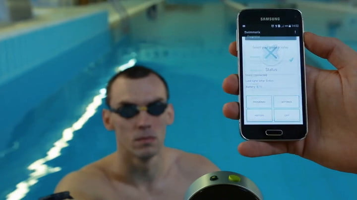 The Swimmerix Wearable