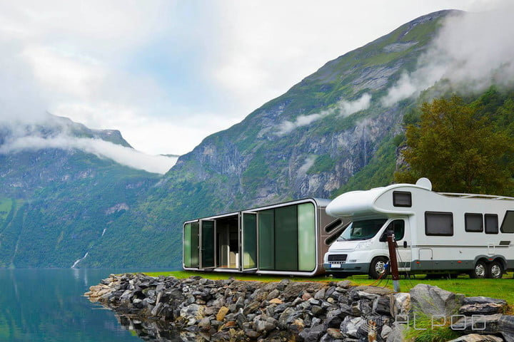 Alpods Are Tiny, Stackable, Aluminum Homes
