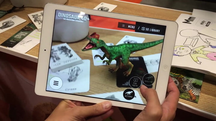 You'll Want This Augmented Reality Dinosaur T-Shirt
