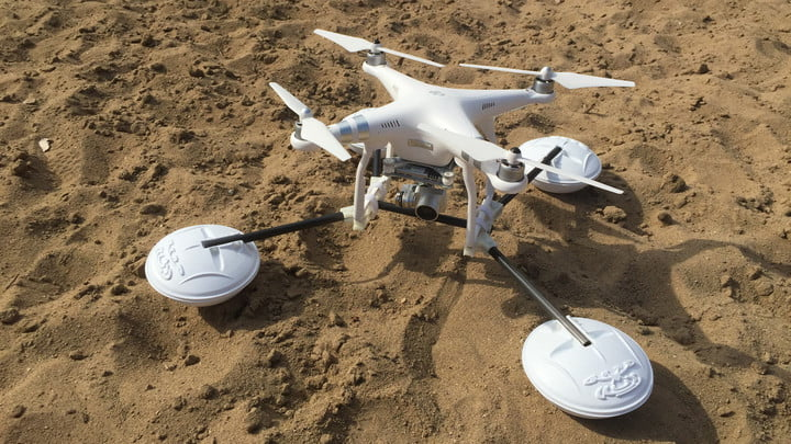 This drone accessory lets you care less about rough landings