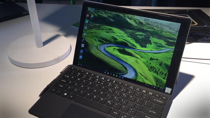Acer Switch Alpha 12 Hands On Impressions