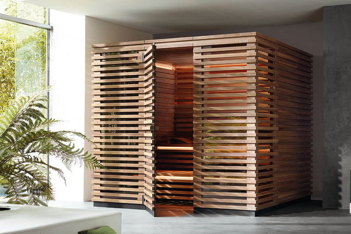 klafs s1 sauna is meant to fit in apartments kosten