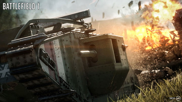 """Battlefield 1 Adds Dynamic Weather, """"Ultimate Vehicles"""""""