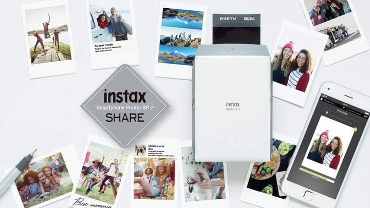Fujifilm Launches Instax SP-2, a Faster Instant Photo Printer