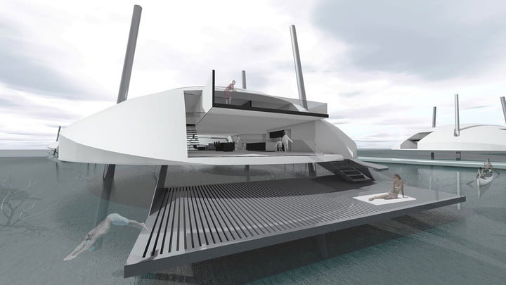The Tidal House is Ready to Take Climate Change Head On