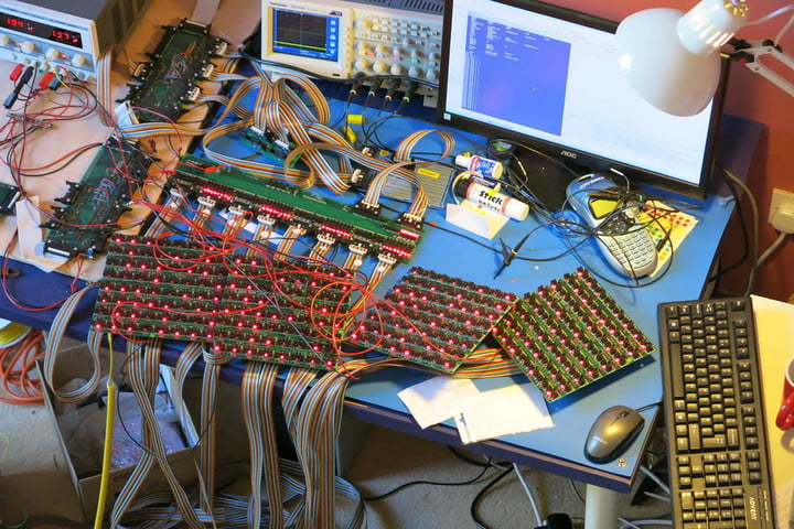 This Brilliant Man Converted His Lounge Into A Giant Megaprocessor